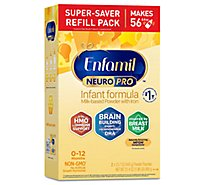 Enfamil NeuroPro Infant Formula Milk Based Powder Refill Box - 31.4 Oz