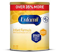 Enfamil Infant Formula Milk based Baby Formula with Iron Powder Can - 29.4 Oz