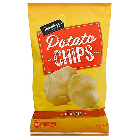 Signature SELECT Potato Chips Classic - 8 Oz