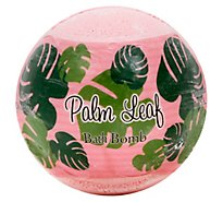 Primal Elements Bath Bomb Palm Leaf - 4.8 Oz
