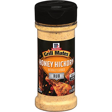 McCormick Grill Mates Rub Honey Hickory - 5.75 Oz