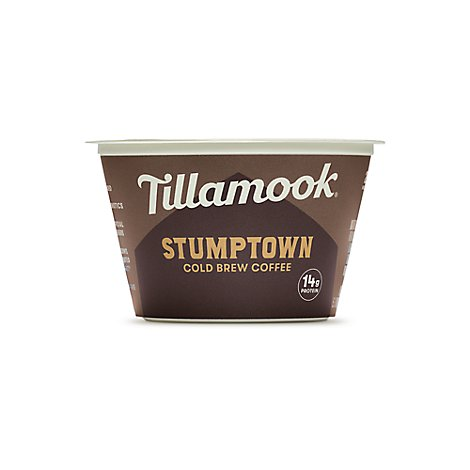 Tillamook Greek Whole Milk Stumptown Cold Brew Yogurt - 5.3 Oz