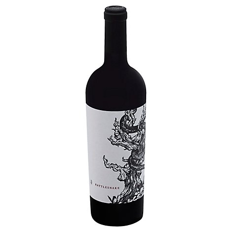 Mount Peak Rattlesnake Sonoma County Zinfandel Red Wine - 750 Ml