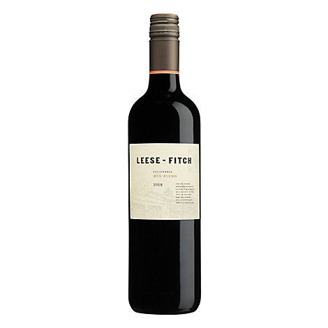 Leese Fitch Firehouse Red Wine - 750 Ml