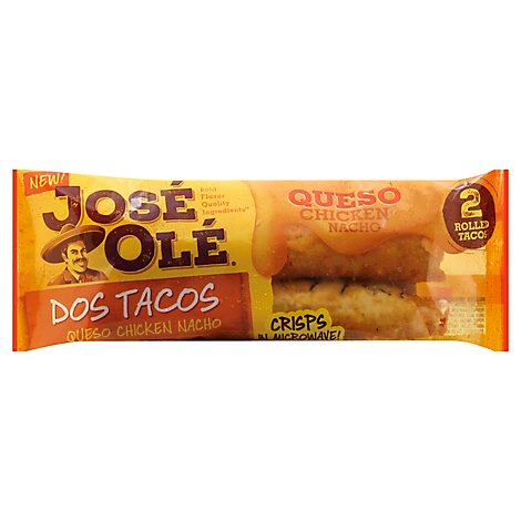 Jose Ole Queso Chicken Nacho Rolled Taco - 4 Oz