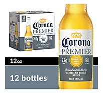 Corona Premier Mexican Import Beer Bottles 4.0% ABV - 12-12 Fl. Oz.
