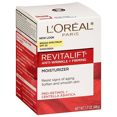 Loreal Paris Revitalift Day Moisturizer Spf25 - 1.7 Oz