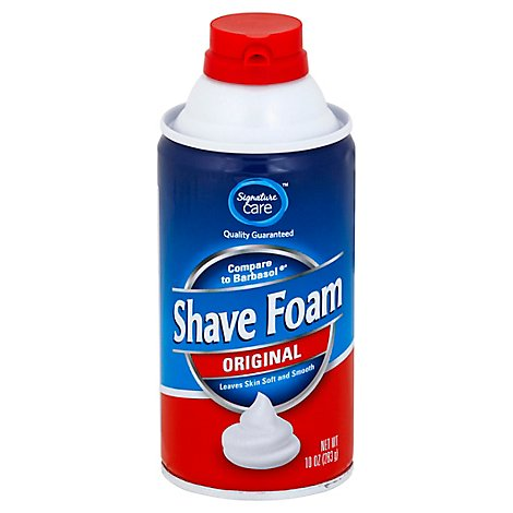 Signature Care Shave Foam Original - 10 Oz