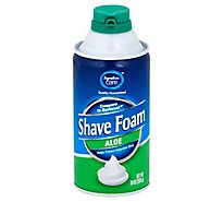 Signature Care Shave Foam With Aloe - 10 Oz