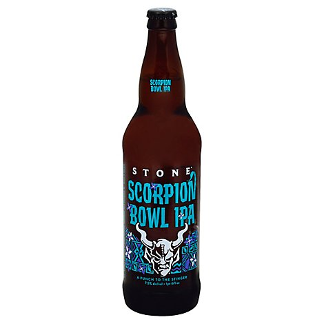 Stone Scorpion Bowl Ipa In Bottles - 22 Fl. Oz.
