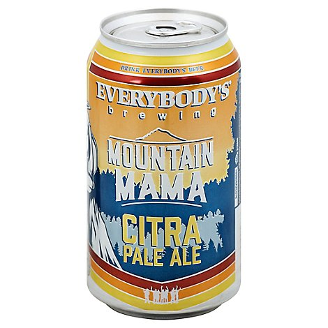 Everybodys Brewing Mtn Mama Pale In Bottles - 6-12 Fl. Oz.