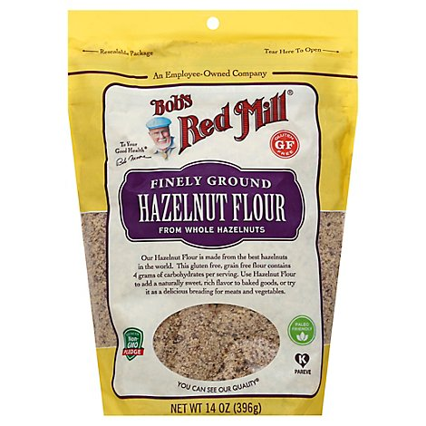 Bobs Red Mill Flour Hazelnut - 14 Oz