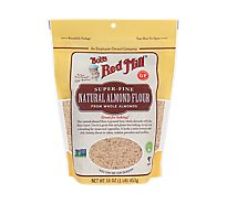 Bobs Red Mill Flour Almond Natural - 16 Oz