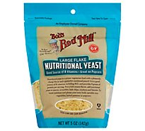Bobs Red Mill Yeast Nutritional Large Flake Gluten Free - 5 Oz