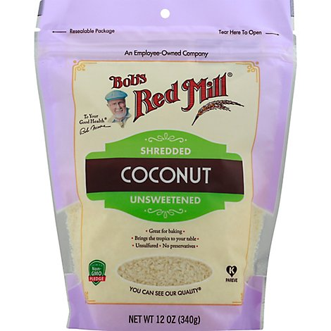 Bobs Red Mill Coconut Shredded - 12 Oz