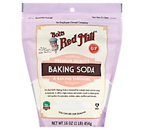 Bobs Red Mill Baking Soda Gluten Free - 16 Oz