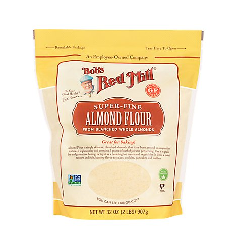 Bobs Red Mill Flour Almond Super Fine - 32 Oz