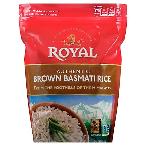Royal Rice Brown Basmati - 2 Lb