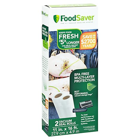Foodsaver Heat N Seal Rl Frz - 2 Count