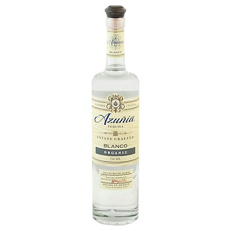 Azunia Organic Tequila Blanco 80 Proof - 750 Ml