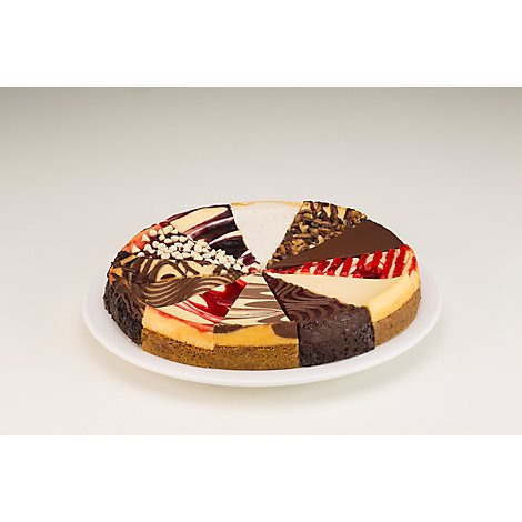 Bakery Cake Cheesecake Winter Platter - Each