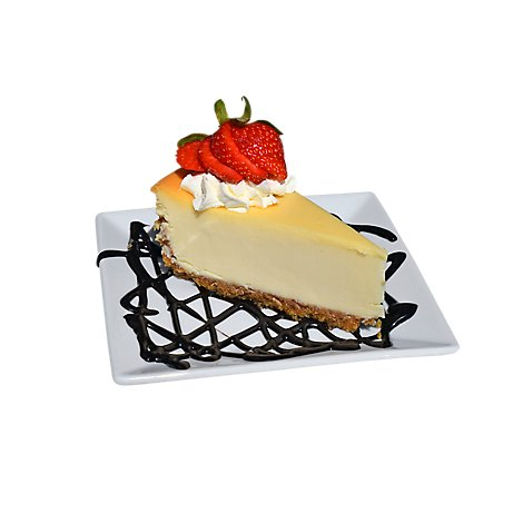 Bakery Cake Cheesecake New York Fruit Topped - Each