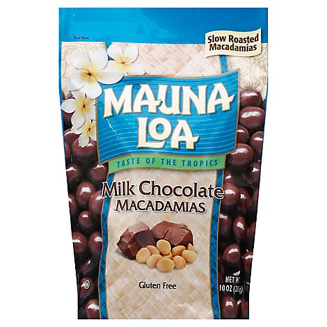 Mauna Loa Milk Chocolate Standup Bag - 10 Oz