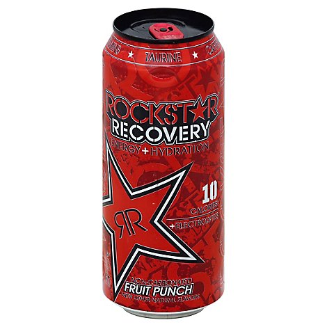 Rockstar Recovery Fruit Punch - 16 Fl. Oz.