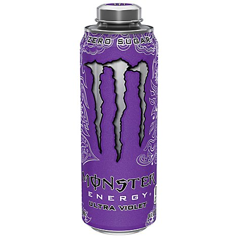 Monster Energy Drink Zero Sugar Ultra Violet - 24 Fl. Oz.
