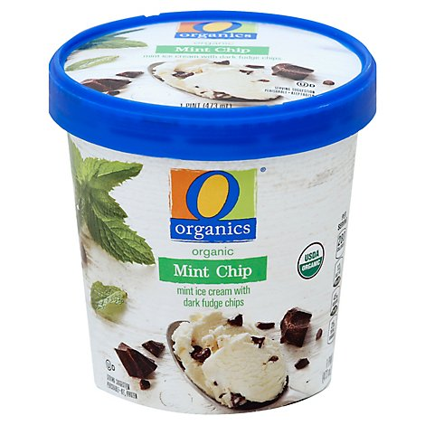 O Organics Ice Cream Mint Chip - 1 Pint