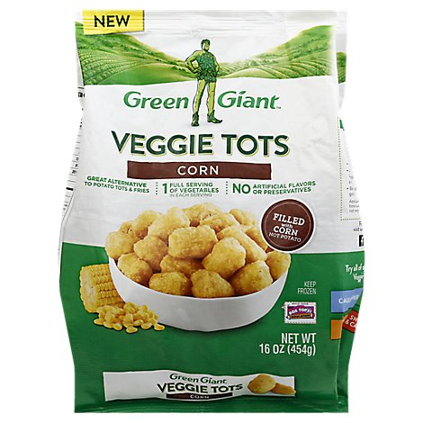 Green Giant Veggie Tots Corn - 16 Oz