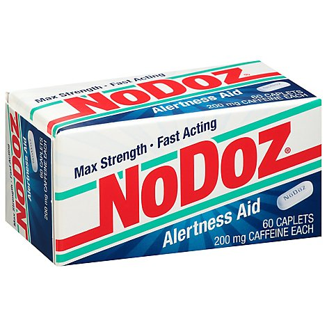 No Doz Alertness Aid Caplets - 60 Count