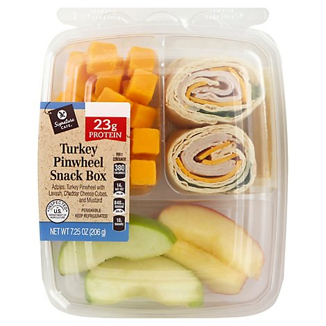 Signature Cafe Snack Box Turkey Pinwheel - 7.25 Oz