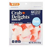 Louis Kemp Crab Delights Chunks - 8 Oz