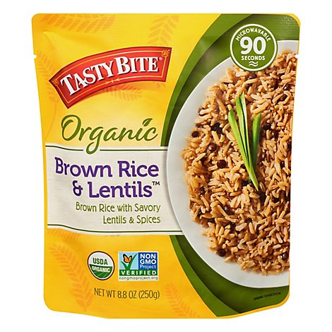 Tasty Bite Brown Rice  Lentils - 8.8 Oz