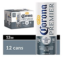 Corona Premier Mexican Import Beer Cans 4.0% ABV - 12-12 Fl. Oz.