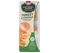 Hormel Natural Choice Stacks Turkey/White Cheddar Cheese/Cracker - 2.3 Oz