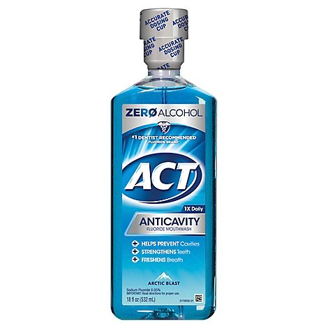 Act Anticavity Zero Alcohol - 18 Fl. Oz.