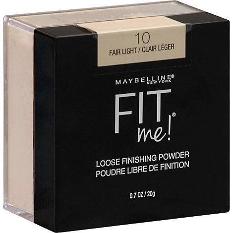 Maybel Fit Me Loose Pwdr Fair Light - 0.7 Oz