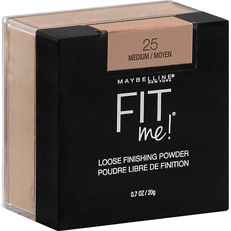 Maybel Fit Me Loose Pwdr Medium - 0.7 Oz