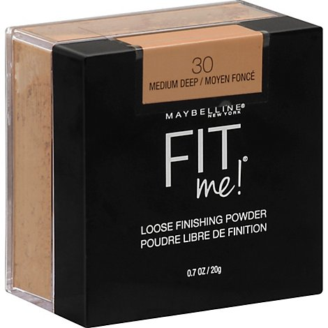Maybel Fit Me Loose Pwdr Medium Deep - 0.7 Oz