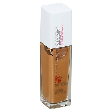Maybel Sprsty Ful Cover Fndt Toffee - 1 Fl. Oz.