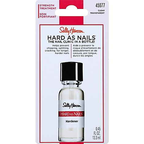 Sally Hard As Nails Clear - .13 Fl. Oz.