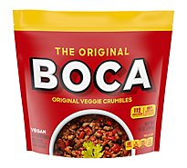 Boca Ground Crumbles Veggie Protein - 12 Oz