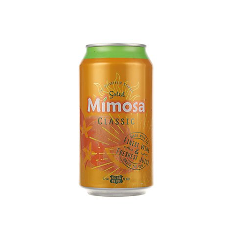 Soleil Mimosa Classic Can Wine - 375 Ml