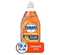 Dawn Ultra Dishwashing Liquid Antibacterial Orange Scent Bottle - 19.4 Fl. Oz.