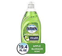 Dawn Ultra Dishwashing Liquid Antibacterial Hand Soap Apple Blossom Scent - 19.4 Fl. Oz.