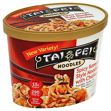 Tai Pei Spicy Korean Chkn Noodles - 10 Oz