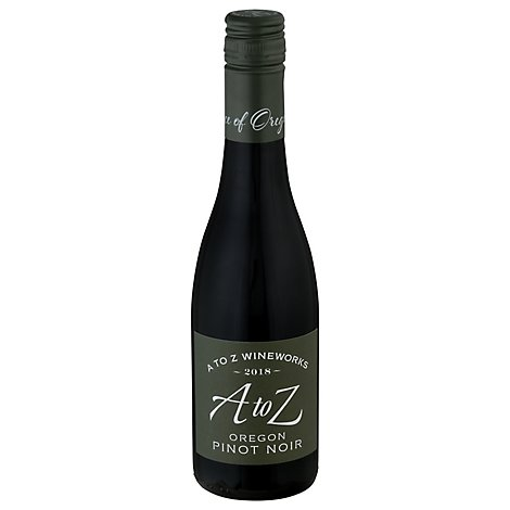 A To Z Pinot Noir Wine - 375 Ml
