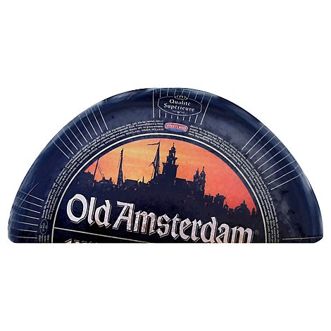Old Amsterdam Gouda Cheese Half Wheel 0.50 LB